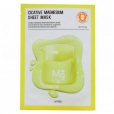 A`PIEU Cicative magnesium sheet mask - Маска тканевая питательная с магнием 22гр