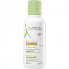 A-DERMA EXOMEGA CONTROL Emollient Cream - Смягчающий крем для сухой Атопичной кожи 400мл