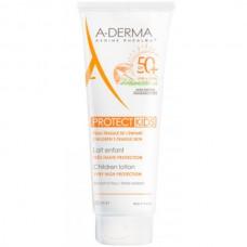 A-DERMA PROTECT KIDS Children Lotion SPF50+ - Cолнцезащитный спрей для детской кожи СЗФ 50+, 250мл