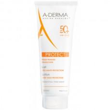 A-DERMA PROTECT Lotion SPF50+ - Cолнцезащитный спрей для лица и тела СЗФ 50+, 250мл