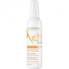 A-DERMA PROTECT KIDS Children Spray SPF50+ - Cолнцезащитный спрей для Детской кожи СЗФ 50+, 200мл