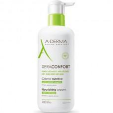 A-DERMA XERACONFORT Nourishing Cream - Питательный крем для сухой Атопичной кожи 400мл