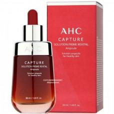 AHC Capture solution prime revital ampoule - Сыворотка ревитализирующая и омолаживающая для лица 50мл
