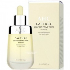AHC Capture solution prime white ampoule - Сыворотка осветляющая и омолаживающая для лица 50мл