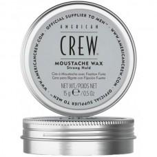 AMERICAN CREW MOUSTACHE WAX - Стойкий воск для усов СИЛЬНОЙ фиксации для укладки и питания волос 15гр