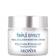 ARONYX Triple effect moisture cream - Крем для лица с морским коллагеном 50мл