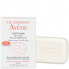 Avene Cold Cream Ultra-rich cleansing bar - Сверхпитательное мыло с колд-кремом 100гр