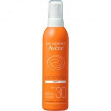 Avene SUN High protection SPRAY SPF30 - Солнцезащитный спрей СЗФ 30, 200мл