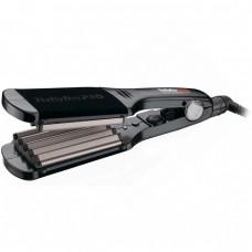 BaByliss PRO Hair Curly Care Line 3D BAB2512TTE - Щипцы-гофре с терморегулятором титан + турмалин 60 х 90мм
