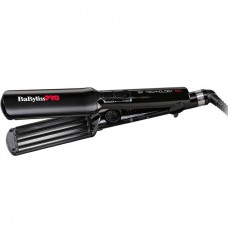 BaByliss PRO Hair Curly Care Line 3D BAB2658EPCE - Щипцы-гофре с покрытием EP Technology 5.0, 38мм