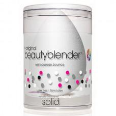 beautyblender Original Solid Blendercleancer - Спонж для макияжа белый и большое мыло для очистки Солид