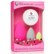 beautyblender all.about.face Kit - Набор: 3 спонжа + мини мыло
