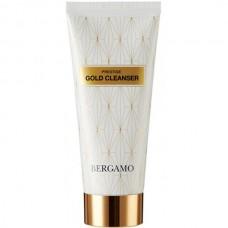 BERGAMO Prestige GOLD CLEANSER - Пенка для лица очищающая с ЗОЛОТОМ 120мл