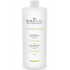 BRELIL Professional BIOTREATMENT ANTIPOLLUTION Shampoo - Регенерирующий шампунь 1000мл