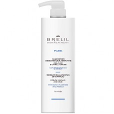 BRELIL Professional BIOTREATMENT PURE SEBUM BALANCING SHAMPOO - Шампунь для жирных волос 1000мл