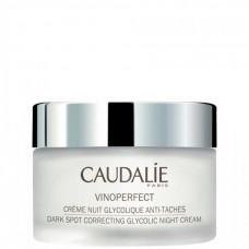 CAUDALIE VINOPERFECT Ceme Nuit Glycolique Anti-Taches - Ночной крем для сияния кожи с гликолевой кислотой 50мл