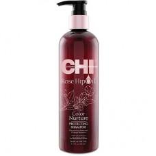 CHI Rose Hip Oil Shampoo - Шампунь с маслом розы и кератином 355мл