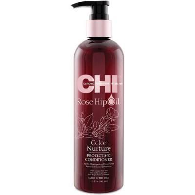 CHI Rose Hip Oil Protecting Conditioner - Кондиционер с маслом розы и кератином 739мл