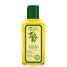 CHI Olive organics OLIVE & SILK Hair and Body Oil - Масло для волос и тела с маслом оливы 59мл