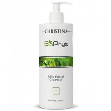 CHRISTINA Bio Phyto Mild Facial Cleanser - Мягкий очищающий гель (шаг 1), 500мл