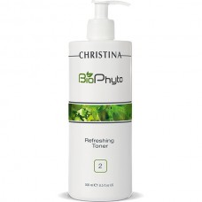 CHRISTINA Bio Phyto Refreshing Toner - Освежающий тоник (шаг 2), 500мл