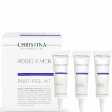 CHRISTINA Rose de Mer Post Peeling Kit - Набор для постпилингового ухода 15 + 15 + 15мл