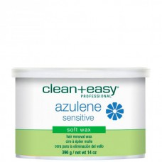 "clean+easy Warm Wax Azulene - Тёплый воск в банке ""Азуленовый"" 396гр"