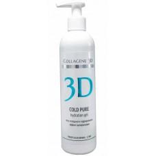Collagene 3D COLD PURE hydration gel - ПРОФ Гель холодного гидрирования для очищения лица 300мл