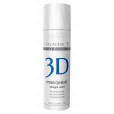 Collagene 3D Cream HYDRO COMFORT - ПРОФ Крем для лица с аллантоином, для раздраженной и сухой кожи 30мл