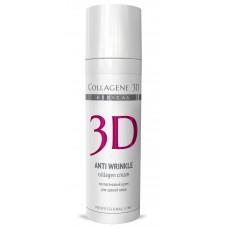 Collagene 3D Gel-Mask ANTI WRINKLE - ПРОФ Гель-маска для лица с плацентолью, коррекция возрастных изменений для зрелой кожи 30мл