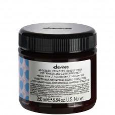 Davines ALCHEMIC CONDITIONER (marine blue) - Кондиционер «АЛХИМИК» для Натуральных и Окрашенных Волос (ПРИГЛУШЁННЫЙ СИНИЙ) 250мл