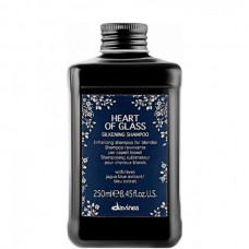 Davines HEART OF GLASS SILKENING SHAMPOO - Шампунь для сияния Блонд 250мл