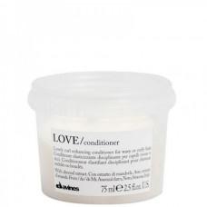 Davines LOVE/ curl conditioner - Кондиционер усиливающий завиток 75мл