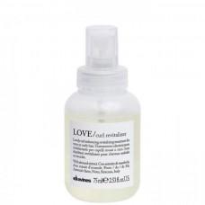 Davines LOVE/ curl revitalizer - Ревиталайзер для волнистых или кудрявых волос 75мл