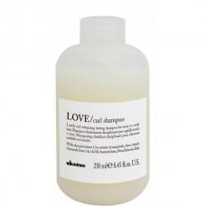 Davines LOVE/ curl shampoo - Шампунь усиливающий завиток 250мл