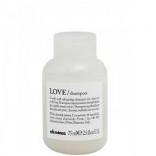 Davines LOVE/ curl shampoo - Шампунь усиливающий завиток 75мл