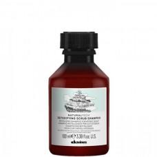 Davines NATURALTECH Detoxifying Scrub Shampoo - Детоксирующий шампунь-скраб 100мл
