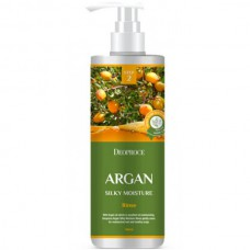 Deoproce Argan silky moisture rinse - Бальзам для волос с аргановым маслом 1000мл