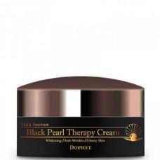 Deoproce Black pearl therapy cream - Крем для лица с черным жемчугом антивозрастной 100гр