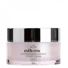 Deoproce Estheroce whitening & anti-wrinkle power cream - Крем для лица омолаживающий с EGF 50мл
