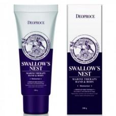 Deoproce Hand & body swallow's nest - Крем для тела и рук из ласточкиного гнезда 100мл