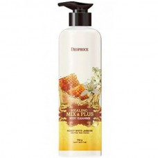 Deoproce Healing mix & plus body cleanser honey white jasmine - Гель для душа мед и жасмин 750гр