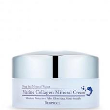 Deoproce Marine collagen mineral cream - Крем омолаживающий с морским коллагеном 100гр