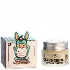 Elizavecca Donkey creamy cleansing melting cream - Масло-крем для снятия макияжа 100мл