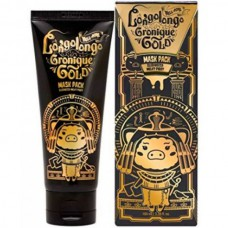 Elizavecca Hell-Pore longolongo gronique gold mask pack - Маска-пленка золотая 100мл