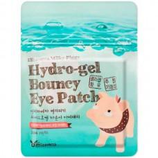 Elizavecca Hydro-gel bouncy eye patch - Набор патчей для глаз с жемчугом и гиалуронкой 20шт
