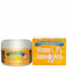 Elizavecca Vitamin C 21% ample mask - Маска для лица с витамином С разогревающая 100мл