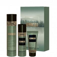 Estel Alpha Homme Genwood Shave - Набор для бритья (шампунь + гель-масло + лосьон) 250 + 100 + 100мл