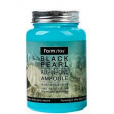 FarmStay All-In one Black pearl ampoule - Многофункциональное средство с черным жемчугом 250мл