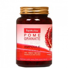 FarmStay All-In one Pomegranate ampoule - Многофункциональное средство с экстрактом граната 250мл